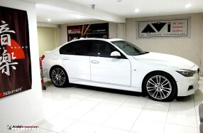 BMW 320D - Audiophile Sound System