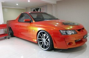Holden VZ Maloo - Repair Audio Visual Show Car