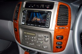 Toyota Landcruiser Sahara - Audio Visual System