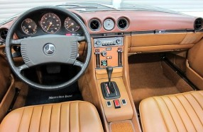 1973 Mercedes Benz 450SL R107 - Update Restoration