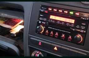 Audi A3 - Nakamichi MD-95z and Active System