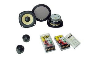 AVI Express XL 130 mm Component Speaker Set