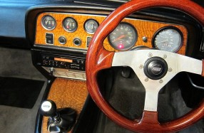 1968 Fiat 124 - Interior Restoration  and Audio