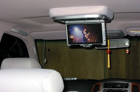 Landcruiser Sahara - Audio Visual System - Rear