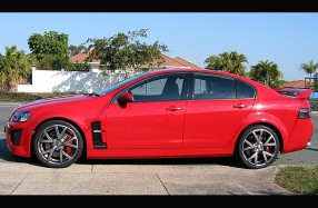 Holden VE HSV GTS 307 - Audio and Camera